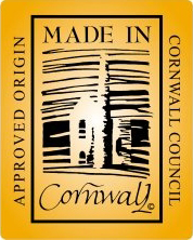 Made In Cornwall logo Granny Moff Books are produced in Cornwall