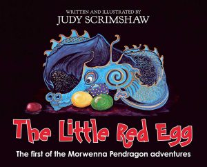 The little red egg book cover written and illustrated by Judy Scrimshaw